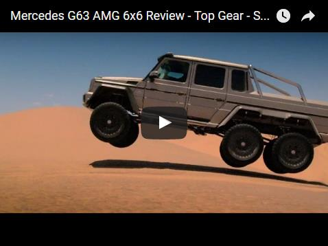 Mercedes G63 AMG 6x6 Review