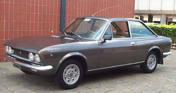 Fiat 124 Coupe #7763518