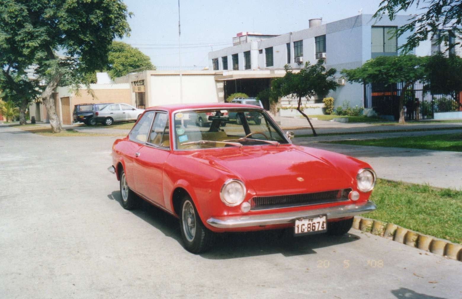 Fiat 124 Coupe #7808911