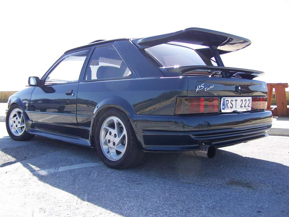 Ford Escort RS Turbo #9266926