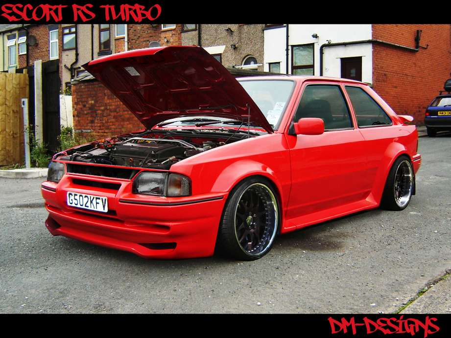 Ford Escort RS Turbo #9143616
