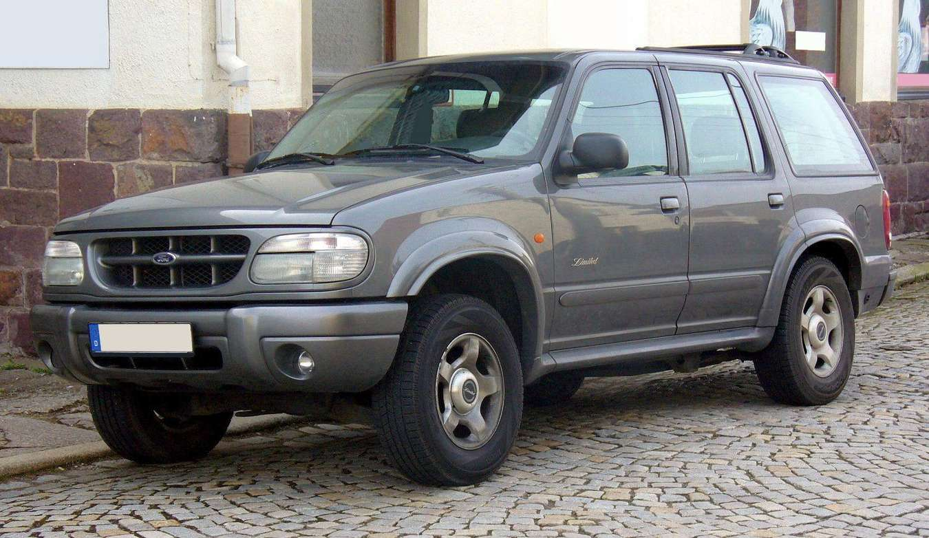 Ford Explorer Limited #9605743