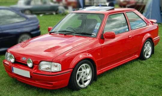 Ford Escort RS Turbo #7471268