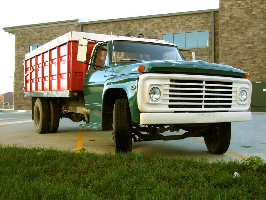 Ford F600 #9771880