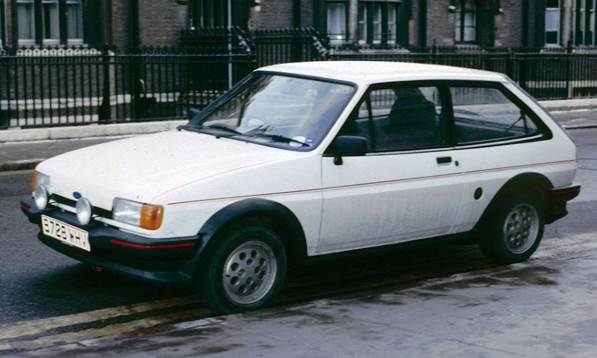 Ford Fiesta XR2i #8413897