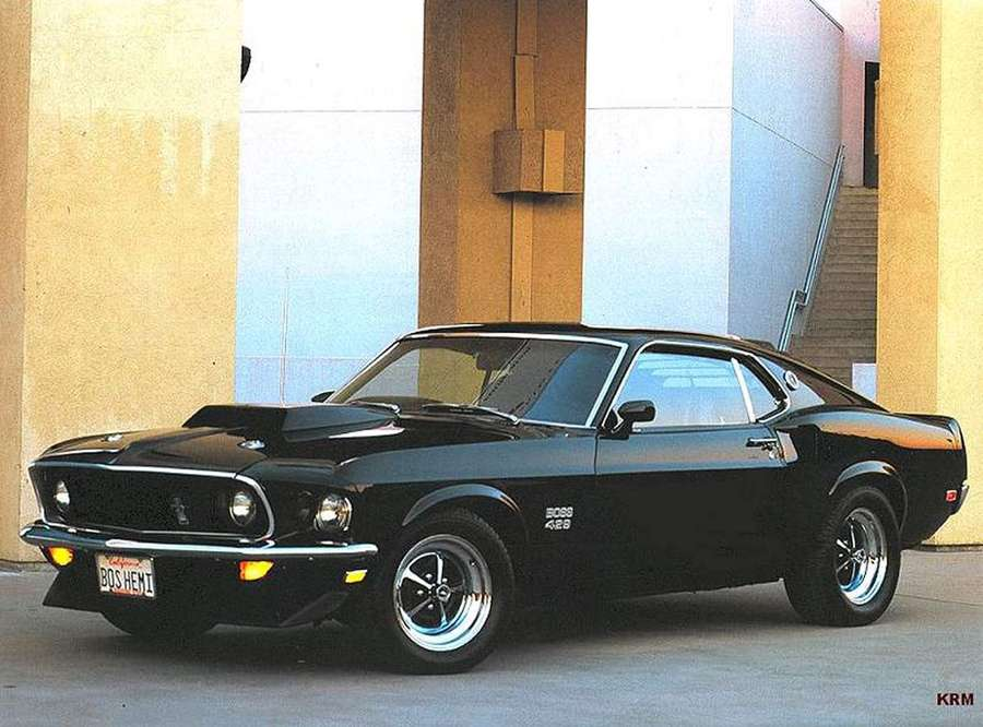 Ford Mustang Boss 429 #9343341