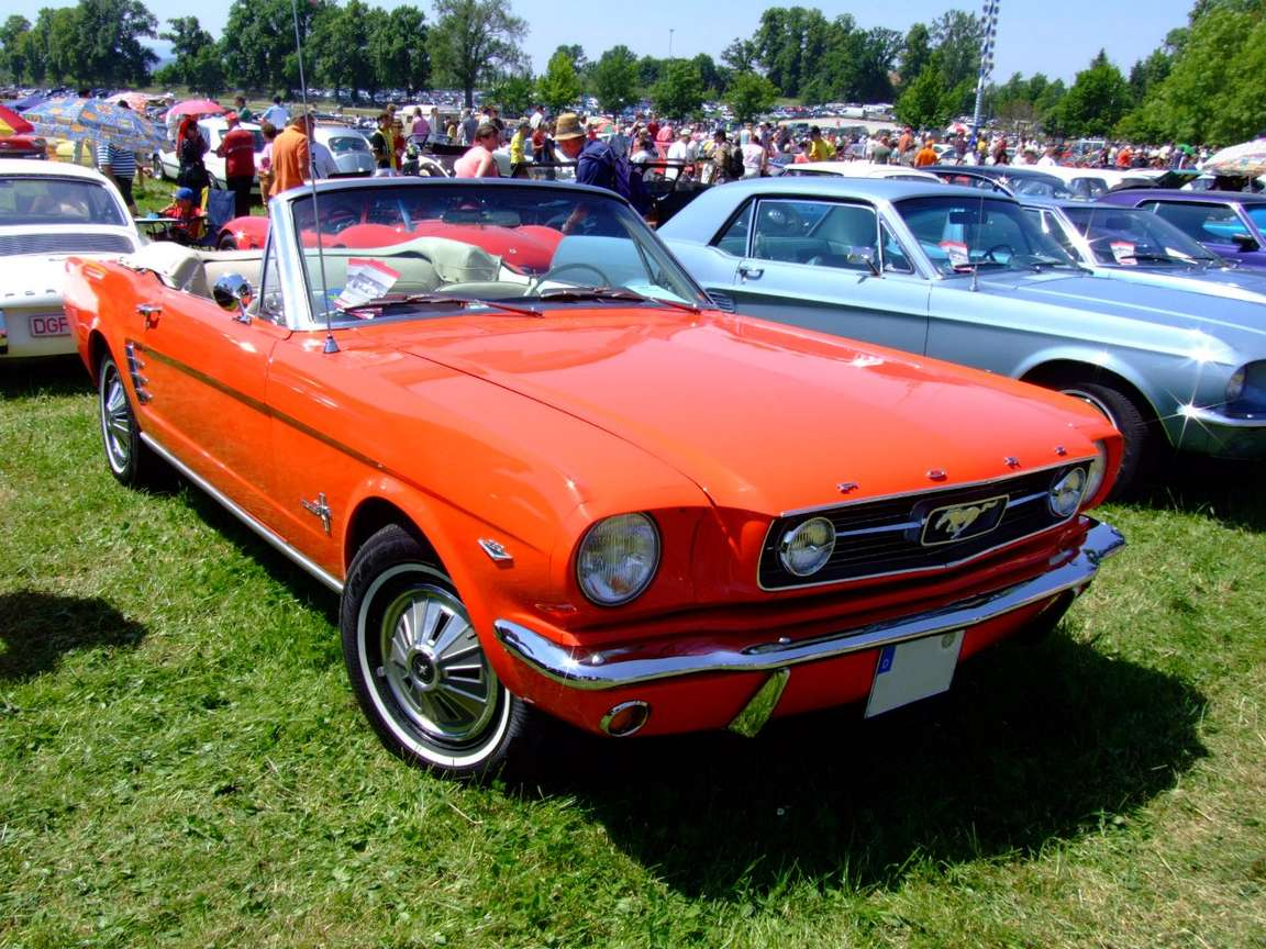 Ford Mustang Cabrio #8094892