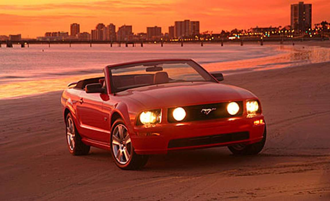Ford Mustang Convertible #8342012
