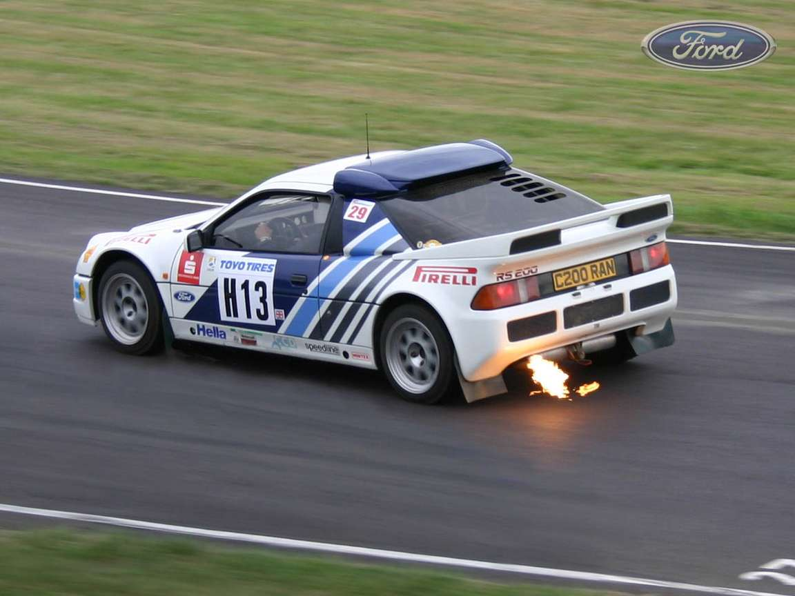 Ford RS 200 #8703556