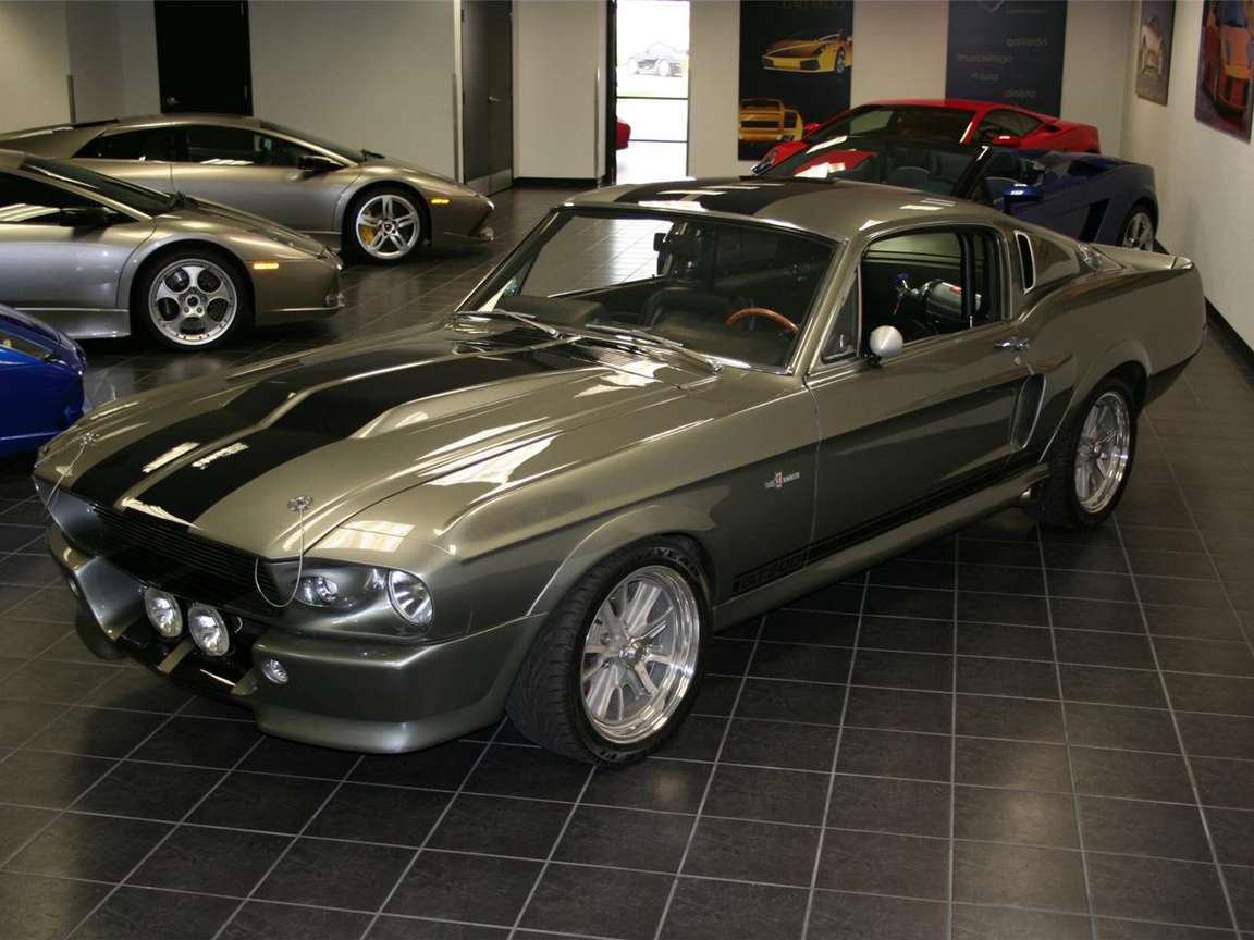 Ford Mustang Shelby #8597117