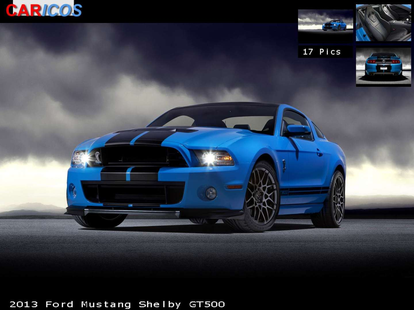 Ford Mustang GT 500 #9555020