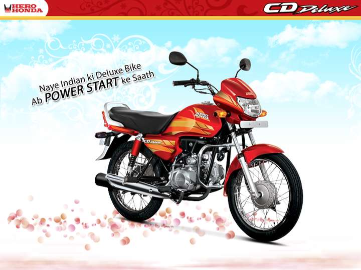 Hero Honda CD Deluxe #7960468