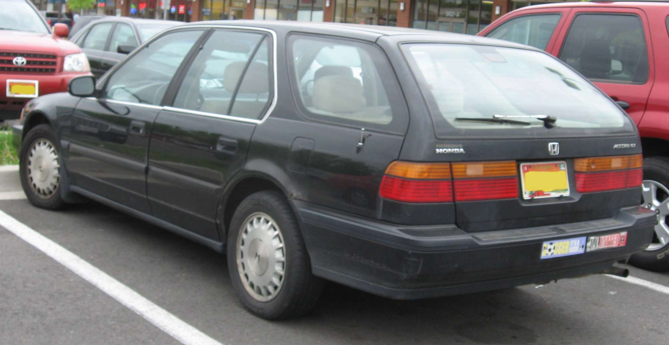 Honda Accord Wagon #8811059