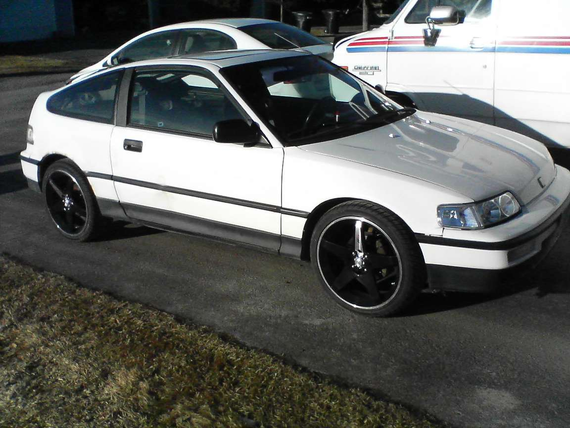 Honda Civic CRX #7696424