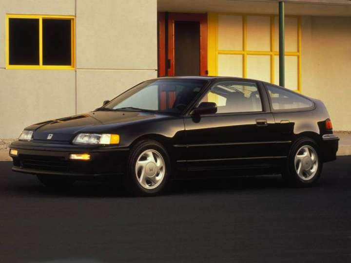 Honda Civic CRX #8933355