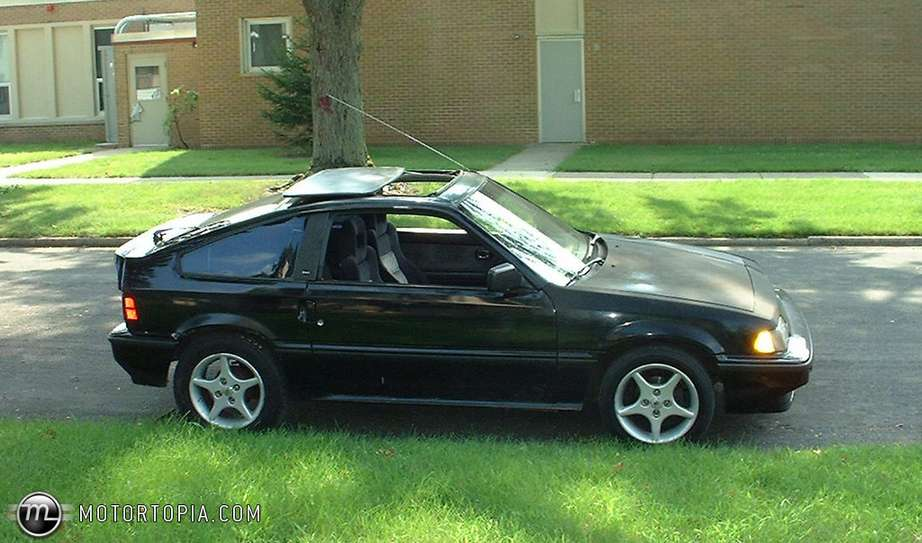 Honda Civic CRX #7982059