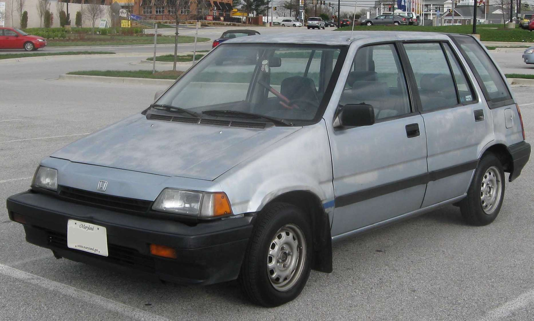 Honda Civic Wagon #8151014