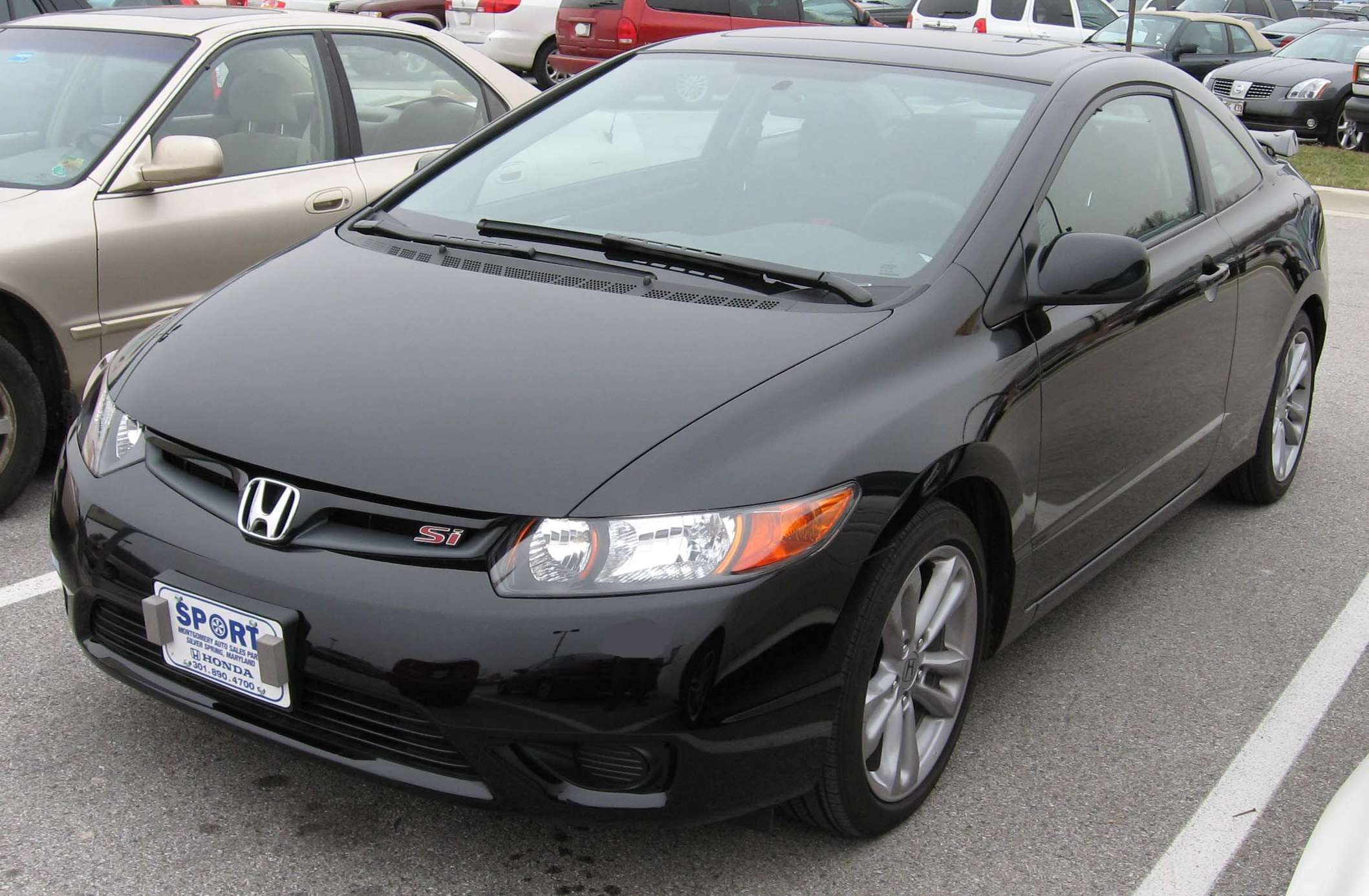 Honda Civic Si Coupe #9216358