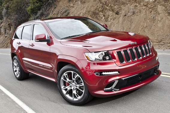 Jeep Grand Cherokee SRT8 #8640898