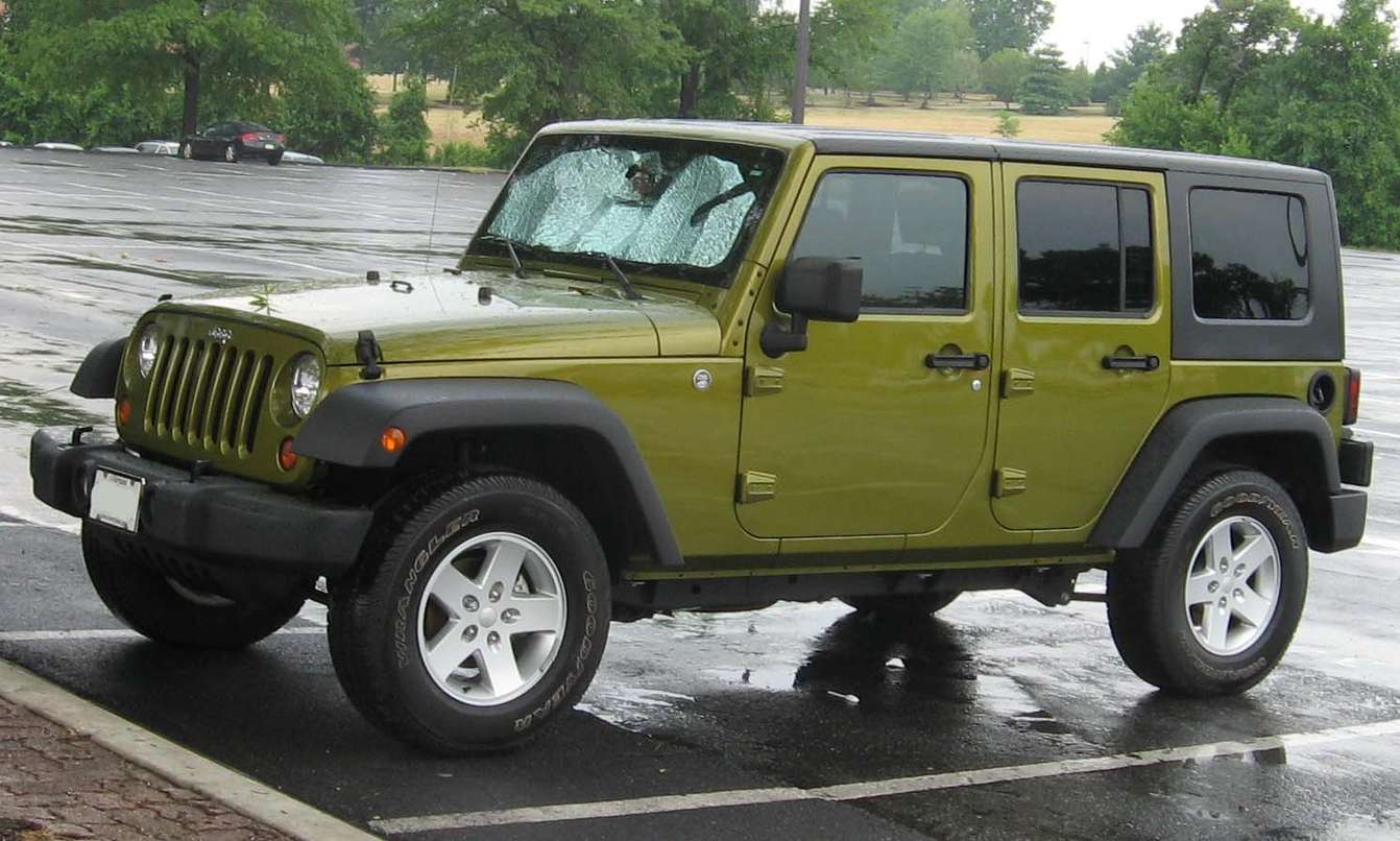 Jeep Wrangler Unlimited #7696140
