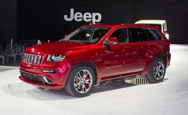 Jeep Grand Cherokee SRT8 #7478140