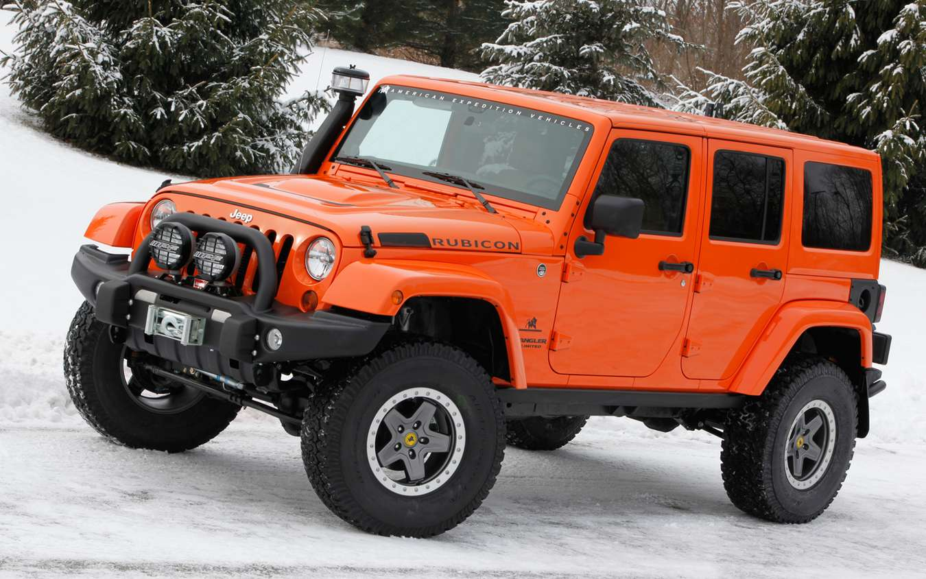 Jeep Wrangler Rubicon #8762420