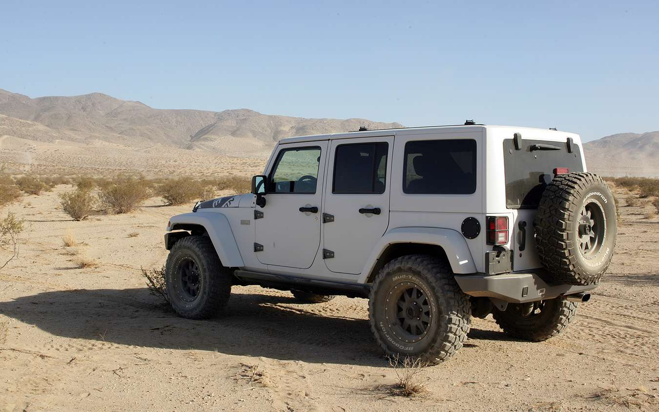 Jeep Wrangler Unlimited #8677768