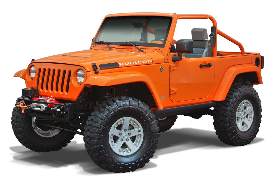 Jeep Rubicon #8348339