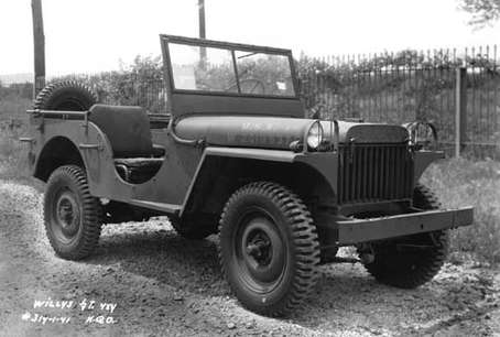 Jeep Willys #7833628