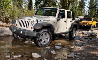Jeep Wrangler Unlimited Rubicon #9946037