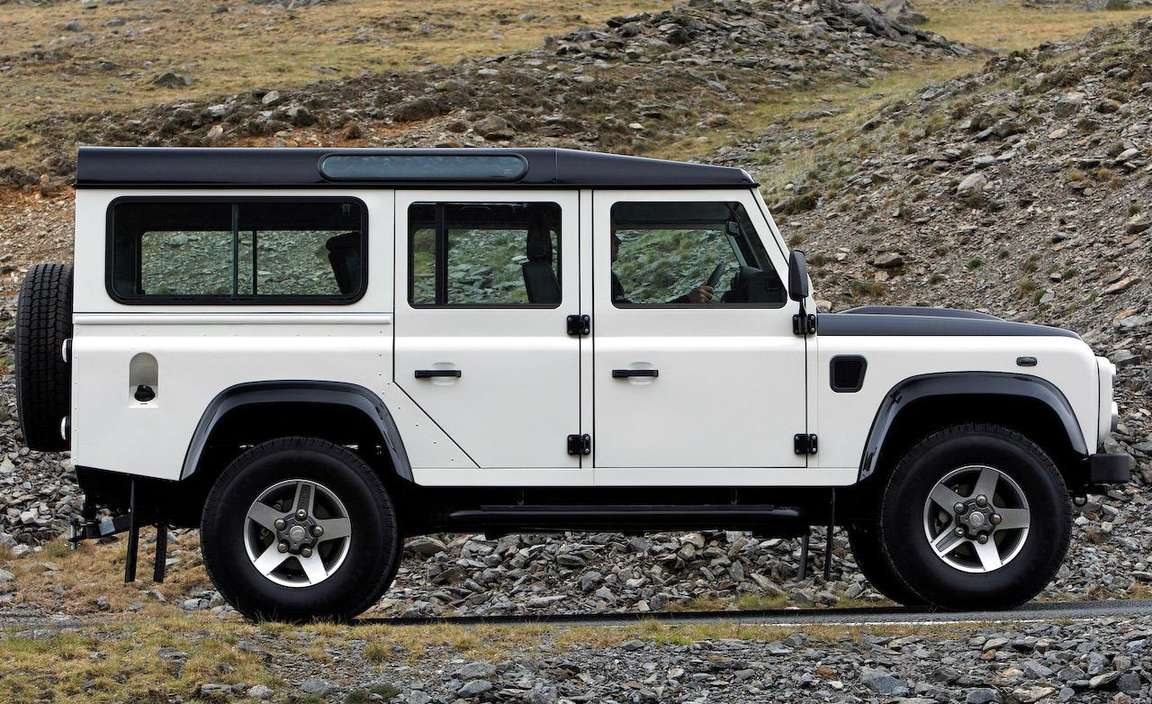 Land-Rover Defender 110 #7593572