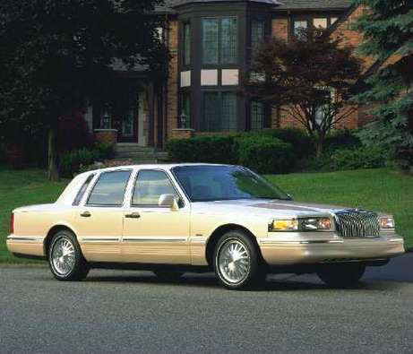 Lincoln Towncar #7635257