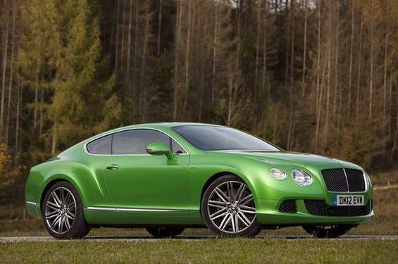 Bentley Continental GT Speed #8588342