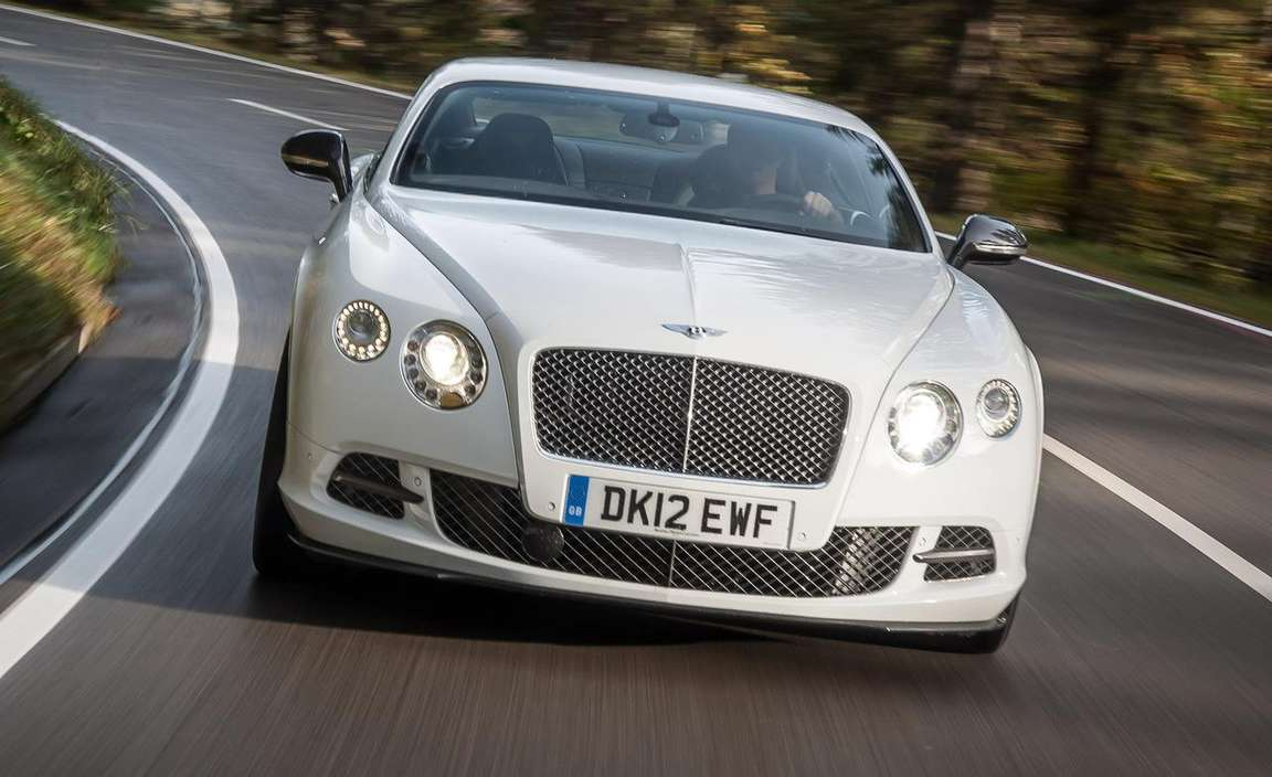 Bentley Continental GT Speed #9625543