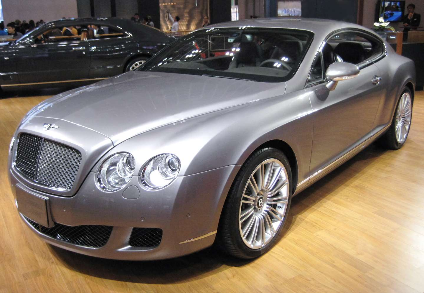 Bentley Continental GT Speed #9412970