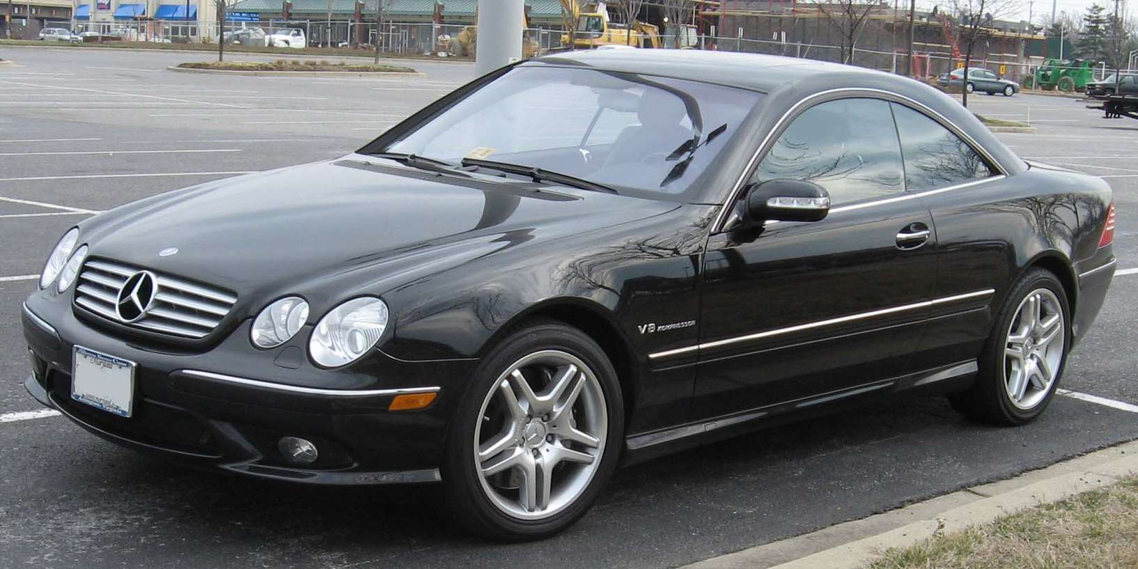 Mercedes-Benz CL #7272953