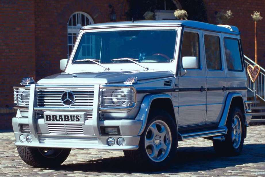 Mercedes-Benz G-Wagon #9512242