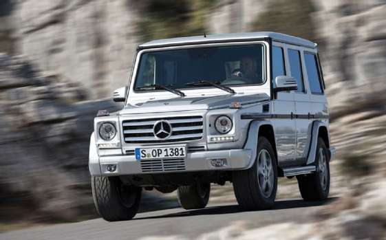 Mercedes-Benz G-Wagon #8057971