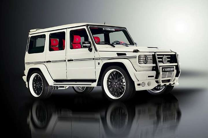 Mercedes-Benz G-Wagon #7843429