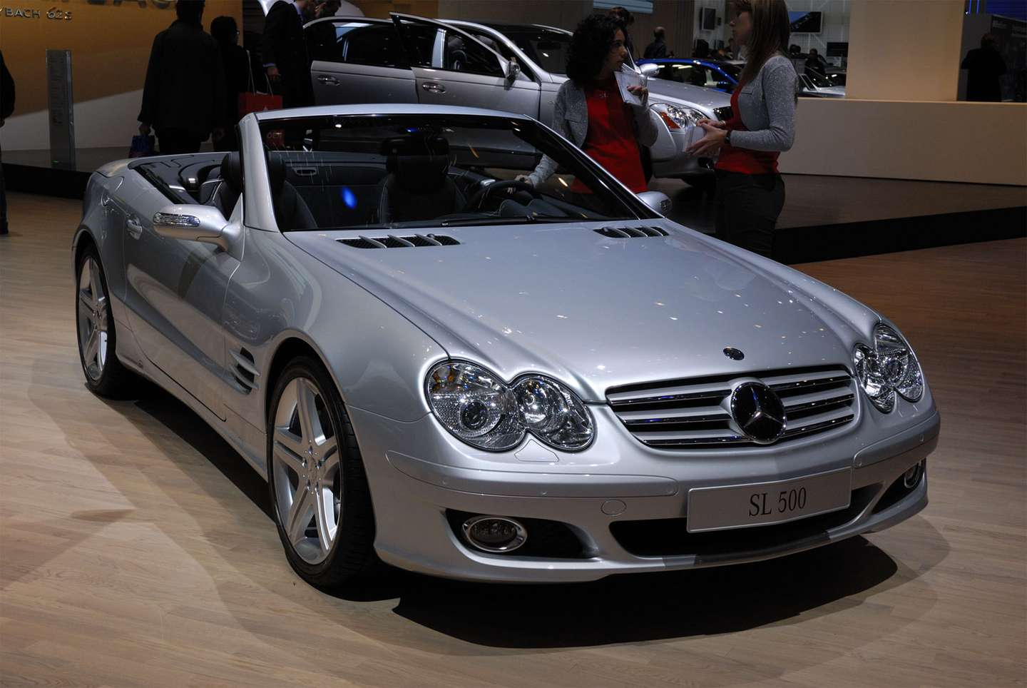 Mercedes-Benz SL 500 #8646491
