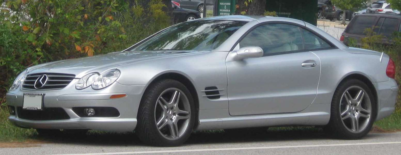 Mercedes-Benz SL500 #8276870