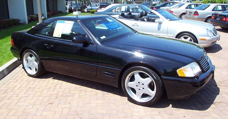 Mercedes-Benz SL 500 #7636661