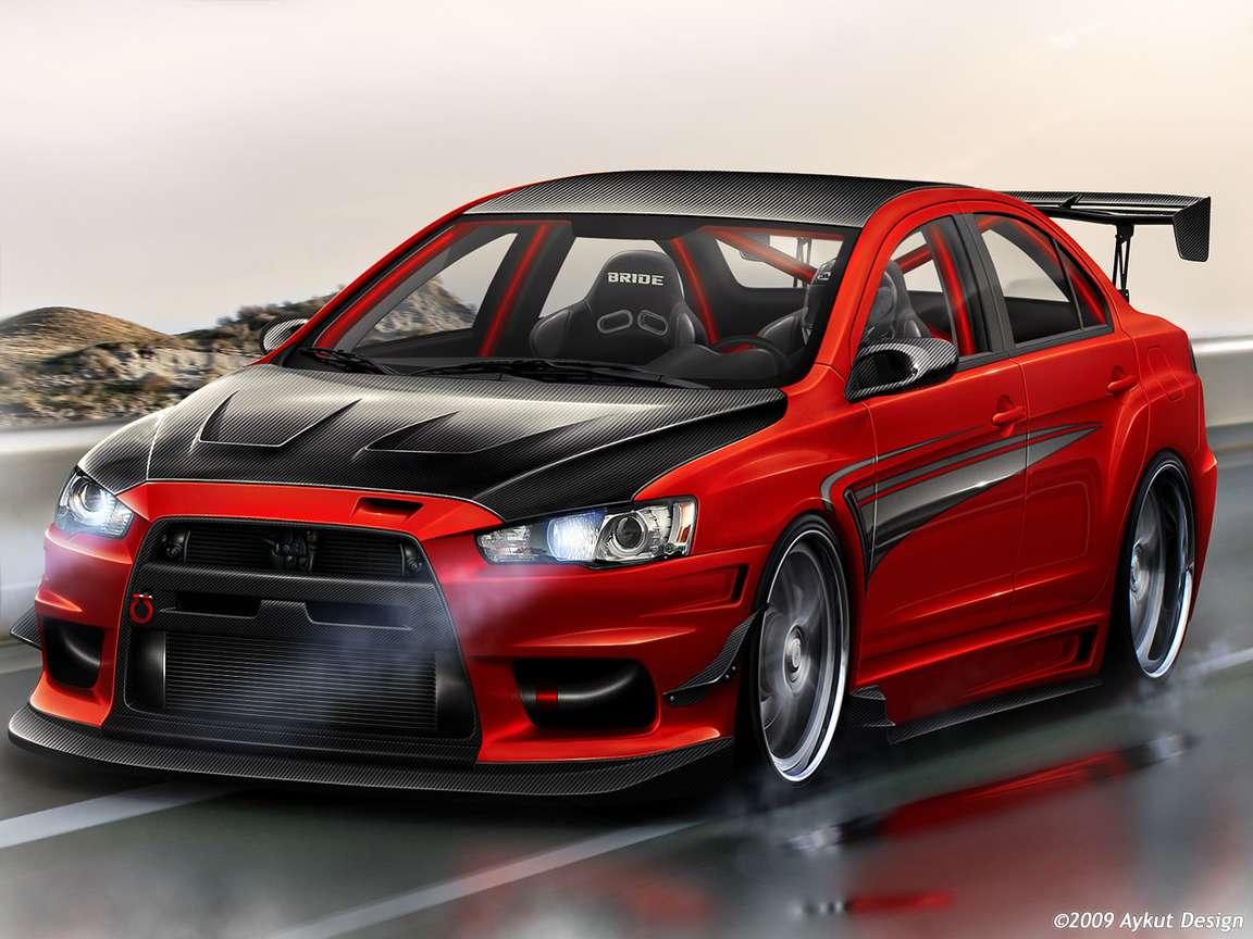 Mitsubishi Evolution #9498180