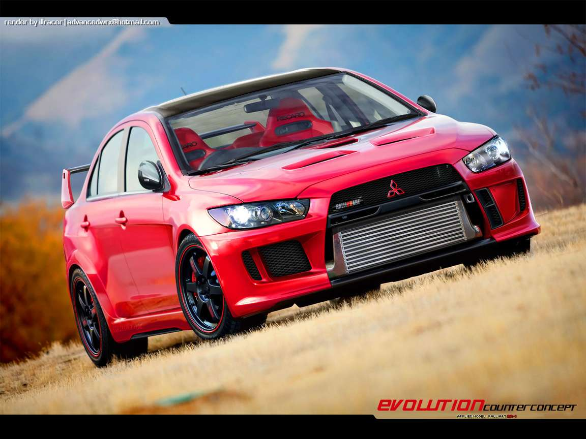 Mitsubishi Evolution #7447868
