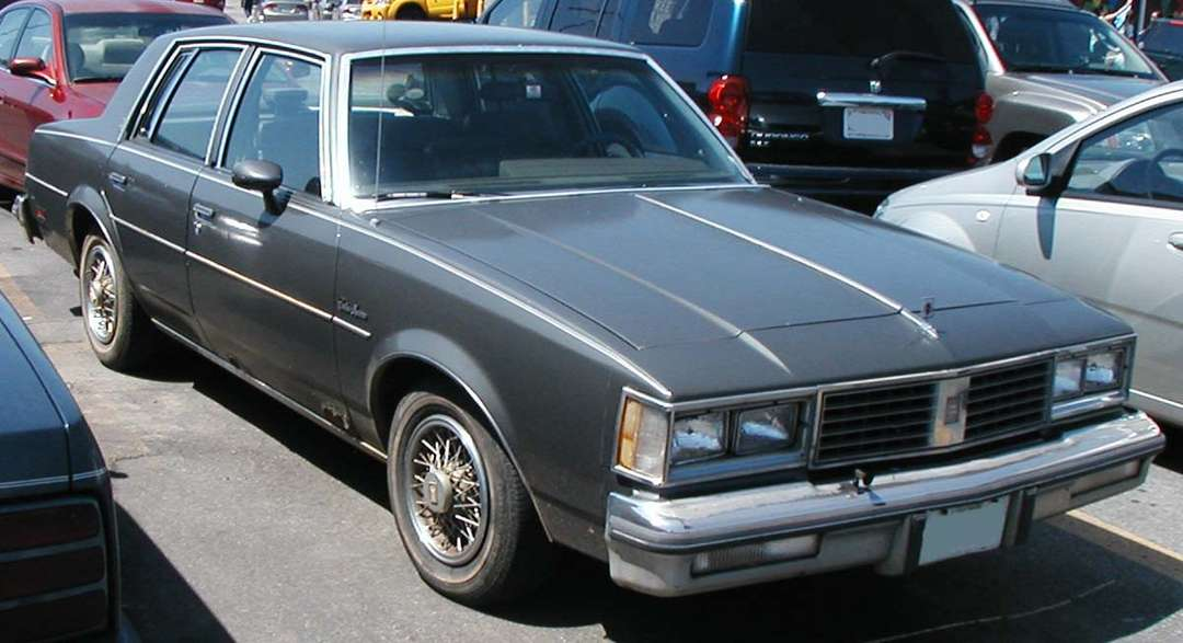 Oldsmobile Cutlass Supreme #8302847