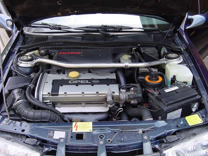 Opel Calibra turbo #8555508