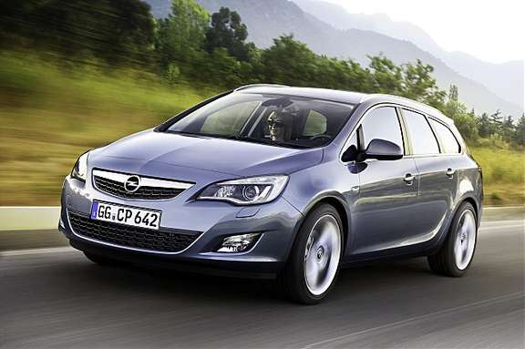 Opel Astra SW #8902475