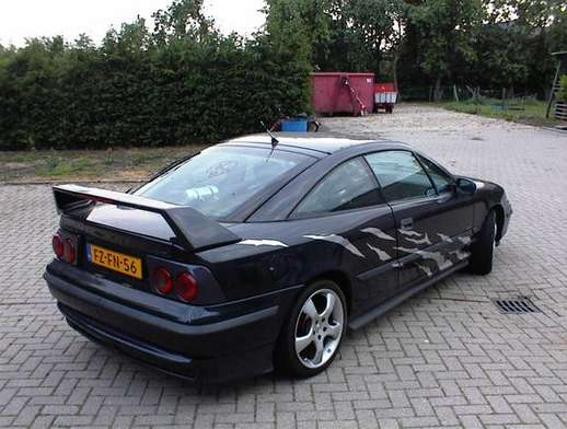 Opel Calibra turbo #7433525