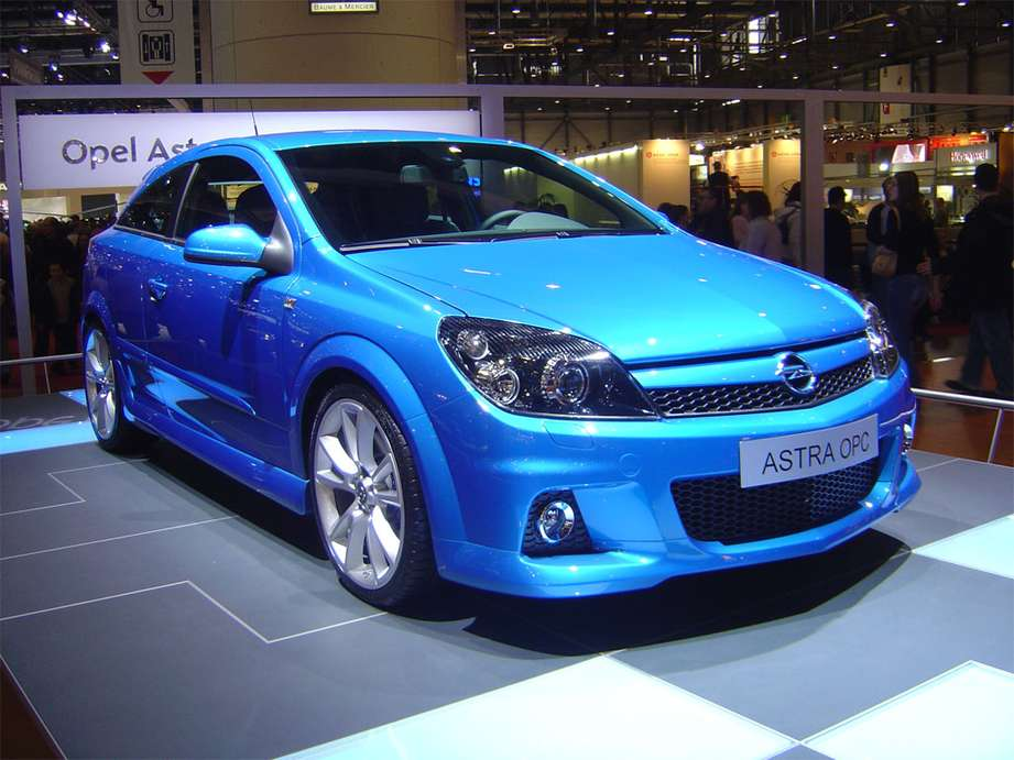 Opel Astra OPC #8914223