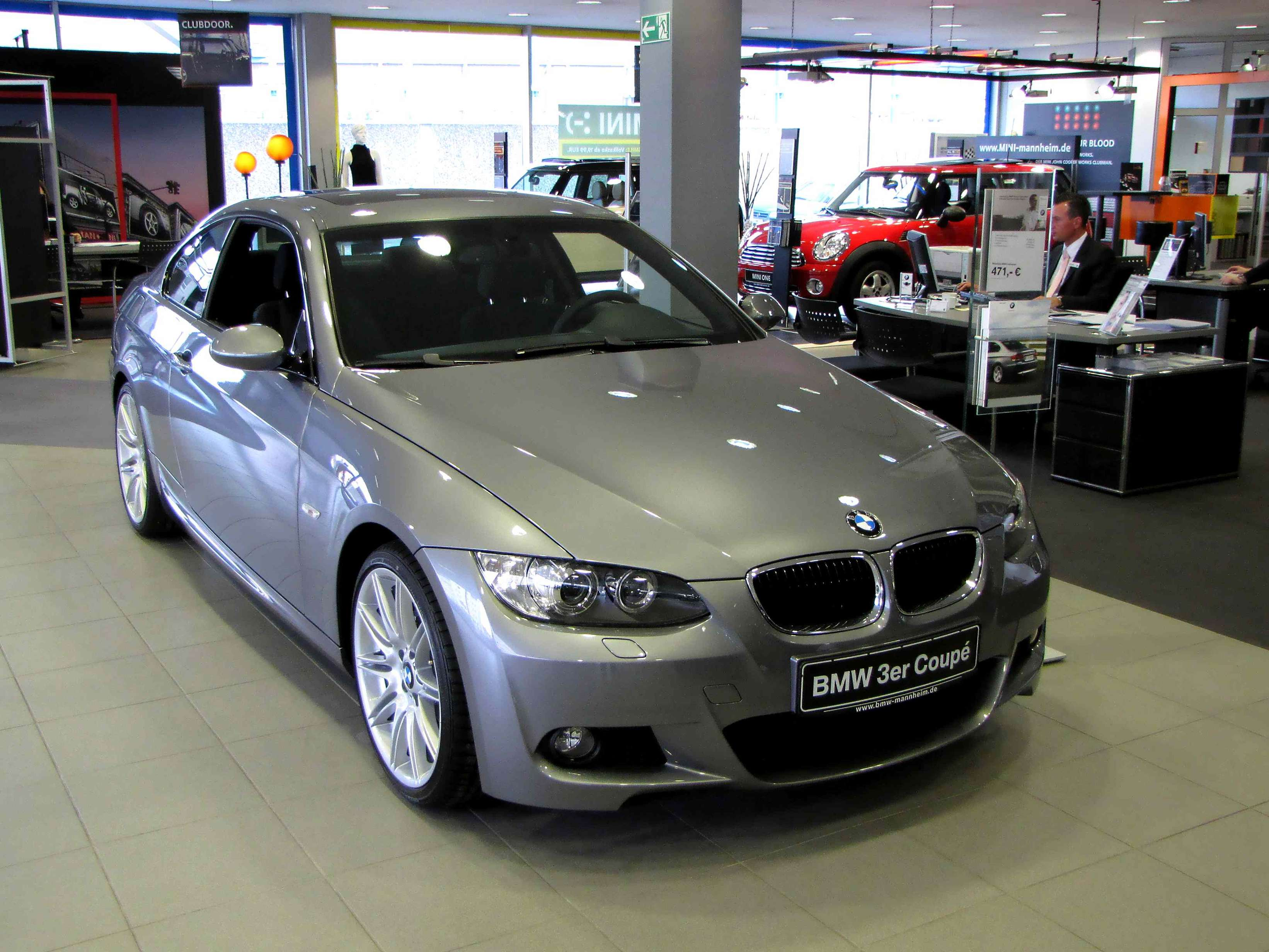 BMW 320D Coupe #8150707